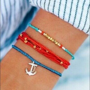 🆕 Pura Vida Anchors Away Bracelet Set